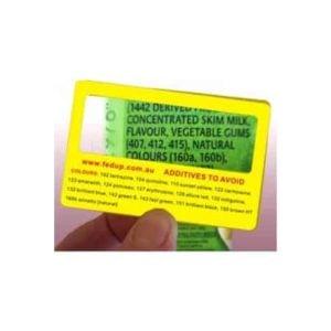 Fedup Additive Card