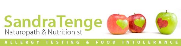 Food allergy testing and treatment programs by naturopath Sandra Tenge