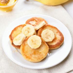 Banana Pikelets Kids Lunchbox