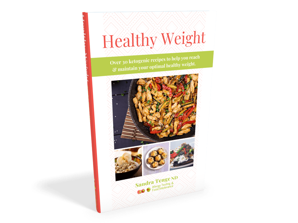 Heathy Weight Sandra Tenge Cover