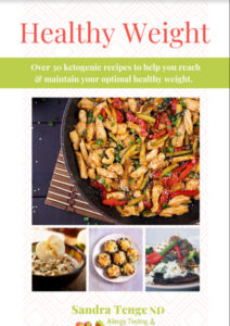 Healthy Weight Recipe Ebook